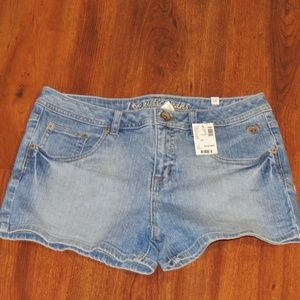 NWT Justice Simply Low Stretch Jean Shorts 14 1/2+
